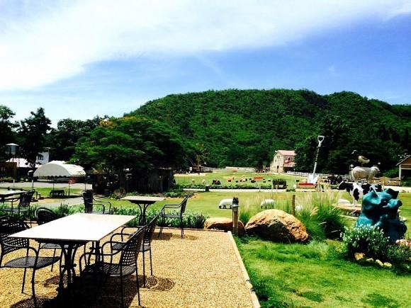 タイのスイス シーナリービンテージファーム
