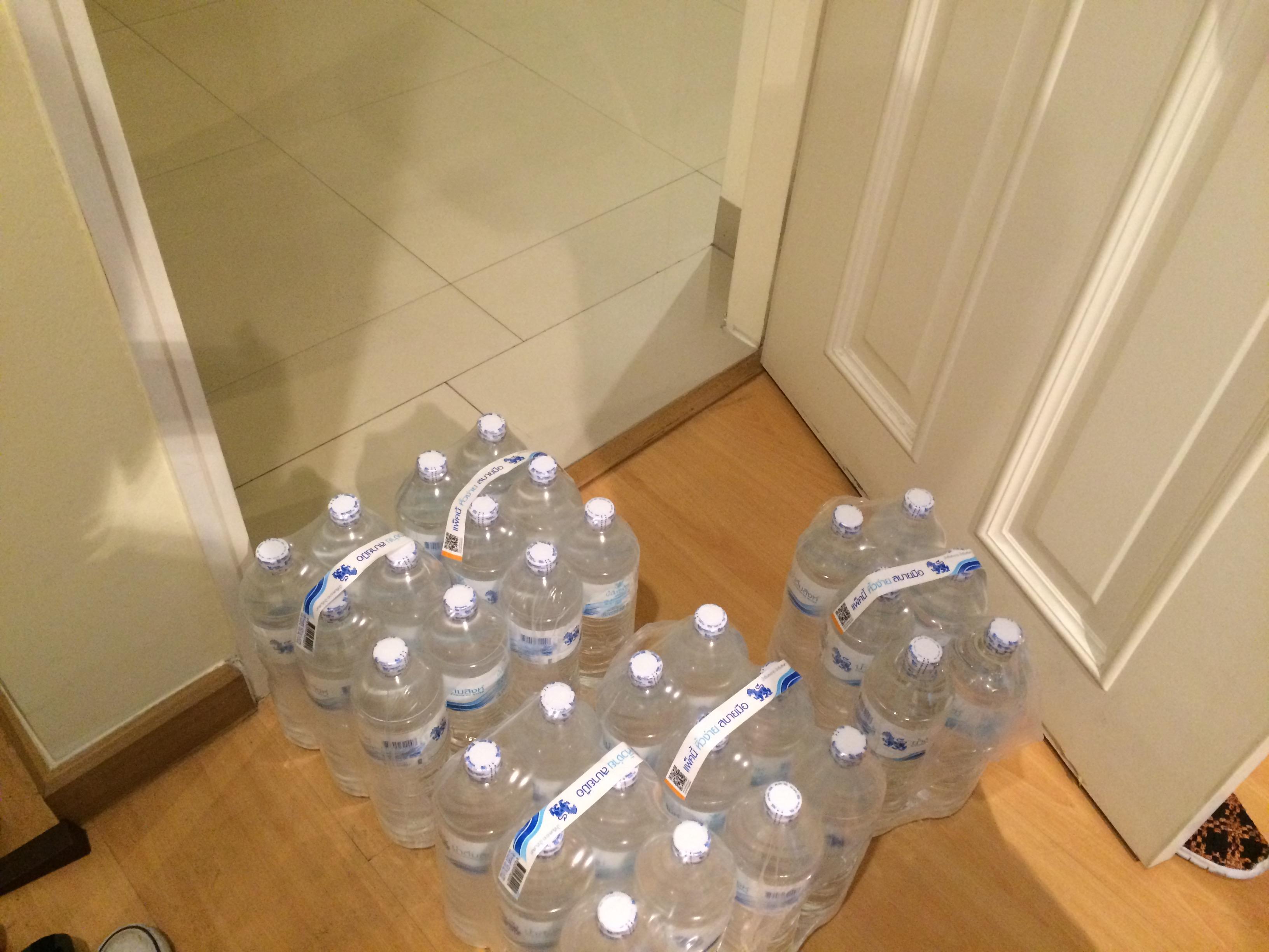 タイバンコク 水の宅配 ロータス利用方法