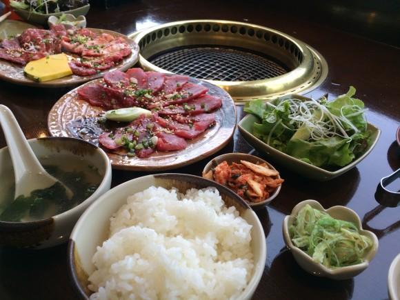 焼肉ランチ 田丸屋本店