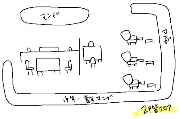 バンコク漫画喫茶