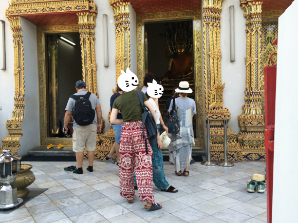 ワットポー・王宮の服装
