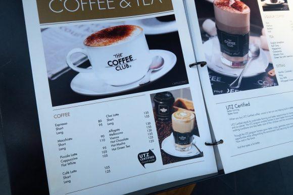 『THE COFFEE CLUB:ザコーヒークラブ』@エカマイ