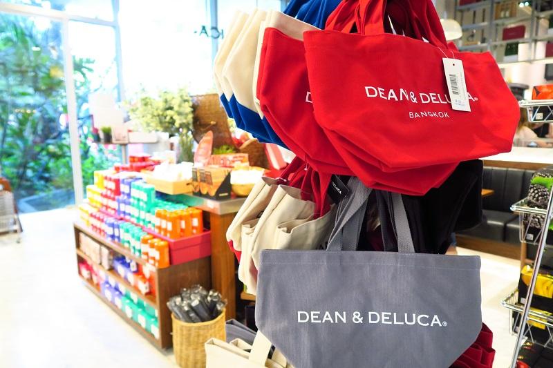 バンコク限定トートバッグ『DEAN&DELUCA:ディーン&デルカート』