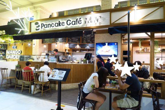 ふわっふわスフレパンケーキ「PancakeCafe FLUFF」@サイアムパラゴンG階