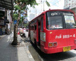 大人1律7B!トンローの便利な『赤バス』に乗ってみた!
