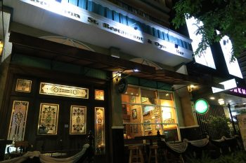bourbon street bangkok オイスターとハンバーガーのアイリッシュパブ@エカマイRd63