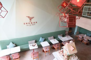 SHUGAA|お砂糖のような甘くてかわいいパステル調のカフェ@エカマイSoi63