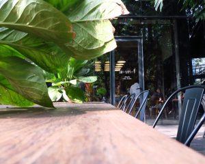 緑に囲まれた小さなカフェ『library:ライブラリー(ライバーリー)』@プラカノン
