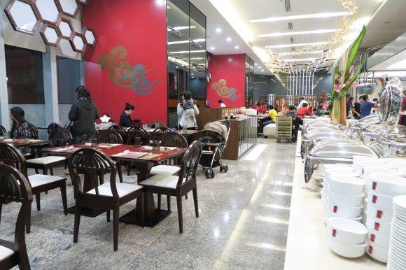 1時間299Bの飲茶ブッフェ&食べ放題『Man Kichen by chef man』@セントラルワールドオフィス棟
