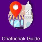 茶とチャックウィークエンドマーケットのチャトチャックガイドアプリ