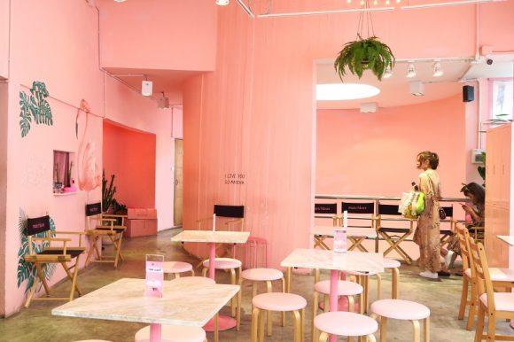 ピンクハウスのインスタスポット『Matchbox Pinkplanter』のメニューが綿菓子に一新@サイアムスクエアSoi11