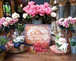 お花と緑があふれる庭園カフェ「The Blooming gallery」@エイトトンロー