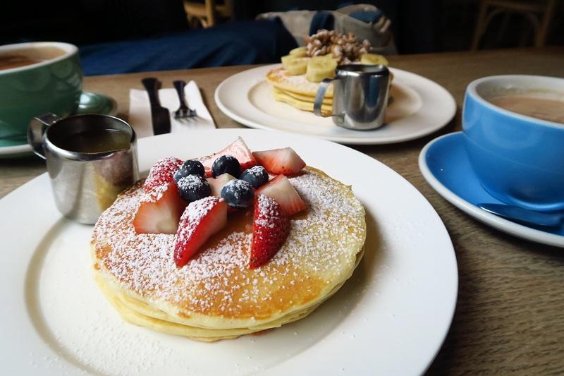 「Chu Chocolate Bar & Cafe」のパンケーキ&ホットチョコがおすすめ@アソーク駅直結
