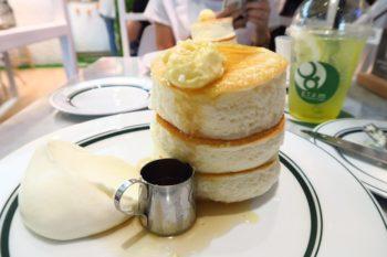 バンコク上陸!プルプルパンケーキ「gram(グラム)」@サイアムパラゴン
