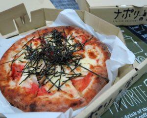 バンコクで日本の味のピザが食べれる「ナポリの窯」でピザデリバリー