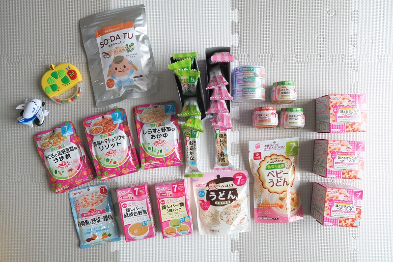 【バンコクで離乳食開始】日本から買ってきてよかったベビーフード
