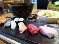 シーロムランチ「喜多朗寿し」は大トロ入り寿司ランチがおすすめ@soiシーロム6