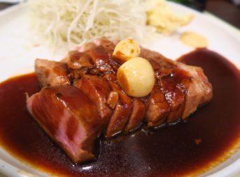 フジ1近くにあるやわらか肉厚とんてき「神戸とんてき」でランチ@Soi Sukhumvit 33/1