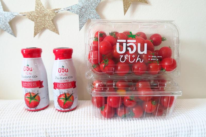 バンコクの美味しい日本品種のトマト屋さん「びじんトマト(BijinTomato)」のデリバリー