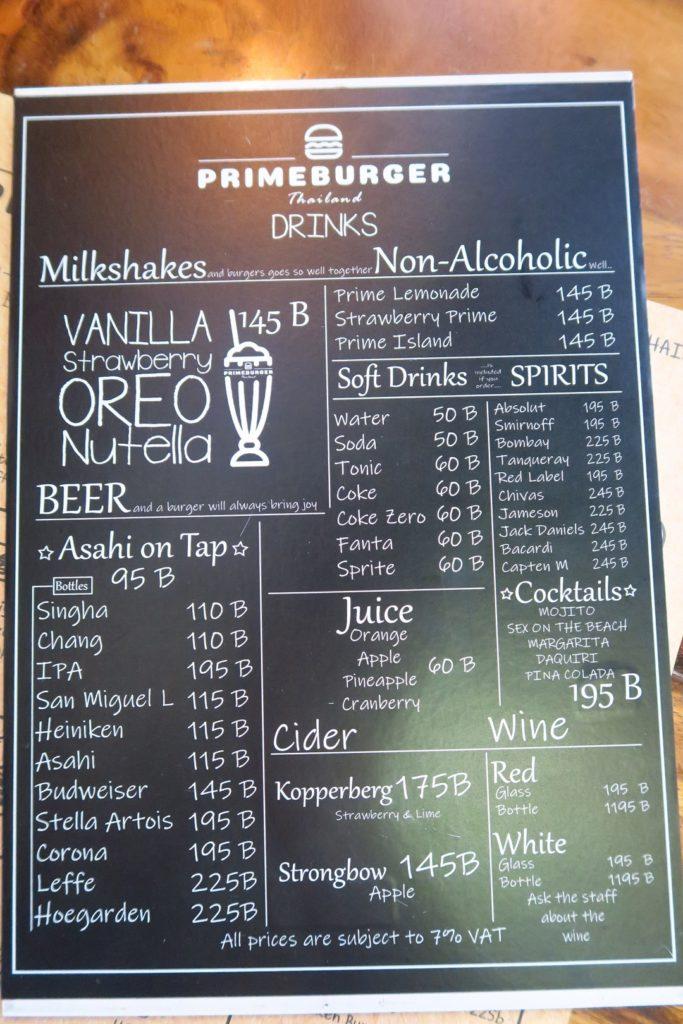 ジャンキーで美味しいハンバーガーなら『PRIM BURGER』がおすすめ@スクンビットRd.