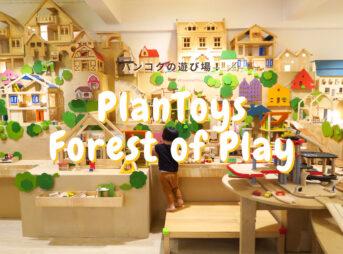 【バンコクの遊び場:有料】PlanToysの『Forest of Play』木のおもちゃ専門店の遊び場へ行ってきました!