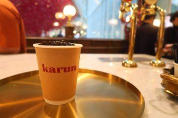 フローズンタイティーが飲める『Karun Thai Tea』へ@エムクオーティエM階