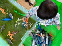 """【バンコクのプレイグループ】Play villeの""""Messy play""""に参加!2時間のプレイルーム付き:対象1歳~5歳"""