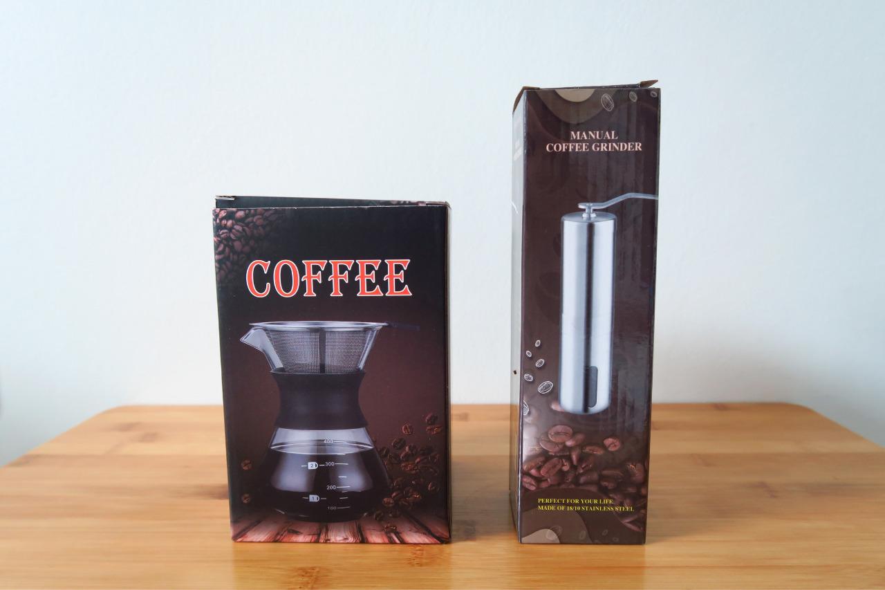 コーヒーのドリッパーをダブルステンレス製に代えてみたら、グンと楽で経済的になった。